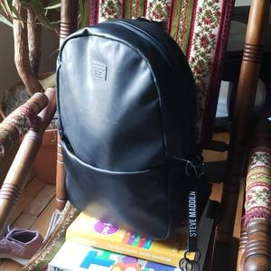 NWT steve madden full size PU leather backpack